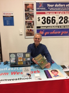 2017050607 - Book Signing at Whiteman AFB